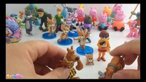 Masha i Medved, Peppa Pig, Tom and Jerry, Scooby Doo Mystery Mates Stone Age Scooby and Velma