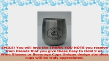 Stemless Wine Glasses Ready to Wrap Set of 2Premium 188 Insulated Stainless Steel is d4a70e25