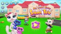 My Little Kitty School Trip - Gameplay Cartoon || Baby Kitty Play Have Fun in School Bus Trip