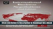 [Read Book] International Business Negotiations, 2nd.Edition (International Business   Management)