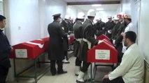 Gaziantep-Şehit Askerlerin Cenazeleri Adli Tıp'tan Alındı