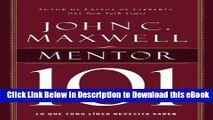 [Read Book] Mentor 101 (Spanish Edition) Kindle