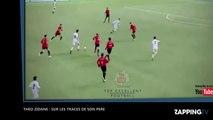 Theo Zidane, sur les traces de son père Zinédine Zidane (Vidéo)