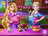 Elsa and Rapunzel Pregnant BFFs Online Games - New Baby Games Amazing Funny Games [HD] 2016