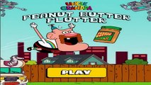 Oncle Grandpa Peanut Butter Flutter - Cartoon Network Oncle Grandpa Games
