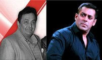 Salman Khan Was Insulted By Rishi Kapoor