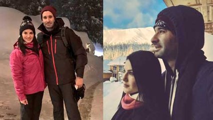 Sunny Leone And Daniel Weber On Kashmir Vacation Private Video And Pictures