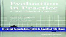 [Read Book] Evaluation In Practice: A Methodological Approach, 2nd Edition Kindle