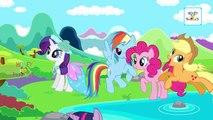 My Little Pony Cartoon Animation Finger Family Nursery Rhymes For Children | MLP Daddy Finger Songs