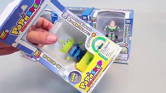 Tomy Disney Pop n Step Melody Music Box Toy story, Mickey mouse Toys 디즈니 팝앤스텝 미키마우스 타요 뽀로로 폴리 장난감
