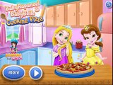 Cooking Games, Baby Rapunzel And Belle Cooking Pizza, Baby Disney Princess Cooking Pizza