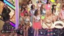 E-girls夏恋のペットボトル挑戦3連発