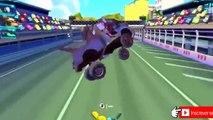 Homem Aranha Desenho - CARROS 2 Relâmpago Mcqueen Corrida Francesco Bernoulli Em uma corrida épica