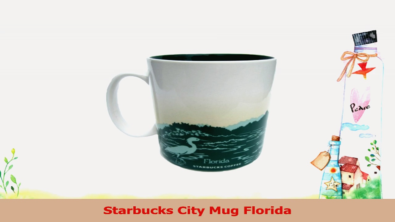 Starbucks Coffee City Mug Collection Florida 16 Oz Cup 2b3f77c8
