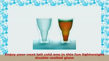 Hopside Down Beer Glass Double Wall Beer Glass  FROSTED Single 3bf5195b