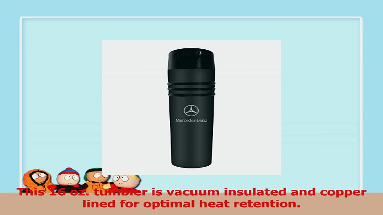MercedesBenz Black 3 Ring Vacuum Insulated Tumbler Coffee Mug 7d03d9dd