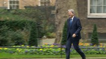 Theresa May holds talk with Italian PM at Downing Street
