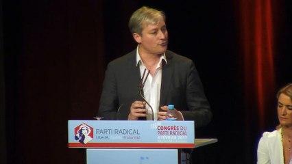 Discours de Laurent Hénart - Président du Parti Radical - 116e CONGRES - 04 février 2017