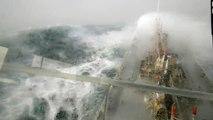 Vagues de 15 mètres sur un bateau pétrolier en Ecosse ! Tempête