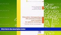 PDF [Download] Education thérapeutique des parents d enfant avec troubles du spectre autistique: