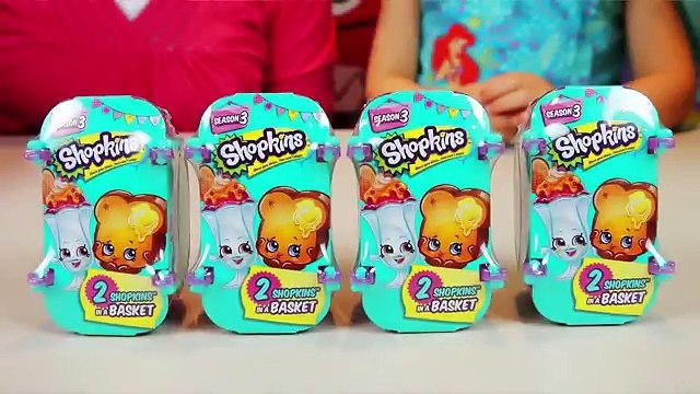 SHOPKINS GIANT SURPRISE EGG | Shopkins Season 3 Blind Baskets & Playsets Opening