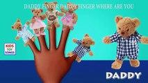 Teddy Bear Finger Family Cartoon Songs   Teddy Bear Cartoon Animation Children Nursery Rhymes