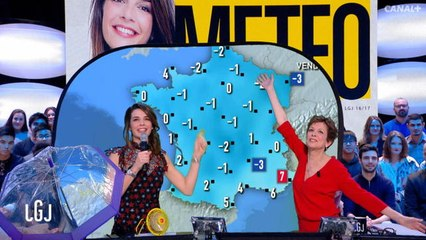 La météo d'Ornella avec Catherine Laborde - La météo du 09/02 – CANAL+