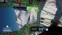 GoPro run Kristofer Turdell- Vallnord-Arcalís FWT17 - Swatch Freeride World Tour 2017