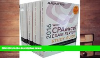 PDF [FREE] DOWNLOAD  Wiley CPAexcel Exam Review 2016 Study Guide January: Set (Wiley Cpa Exam