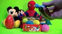 New Surprise Eggs Toys! TMNT Frozen Monsters University Disney Cars 2 and Planes!