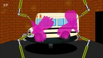 Learn Colors with Ten Little Color Buses - Colours for Kids to Learn - Funny Videos #FunnyVideos