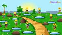 Ten Little Indians Nursery Rhymes | Nursery Rhymes & Children Songs with Lyrics | elearnbox songs