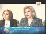 Temps forts des activités de la 1ère dame Dominique Ouattara en France