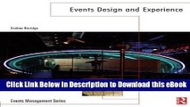 EPUB Download Events Design and Experience (Events Management) Online PDF