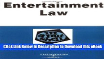 [Read Book] Entertainment Law in a Nutshell (Nutshell Series) (In a Nutshell (West Publishing)) Mobi