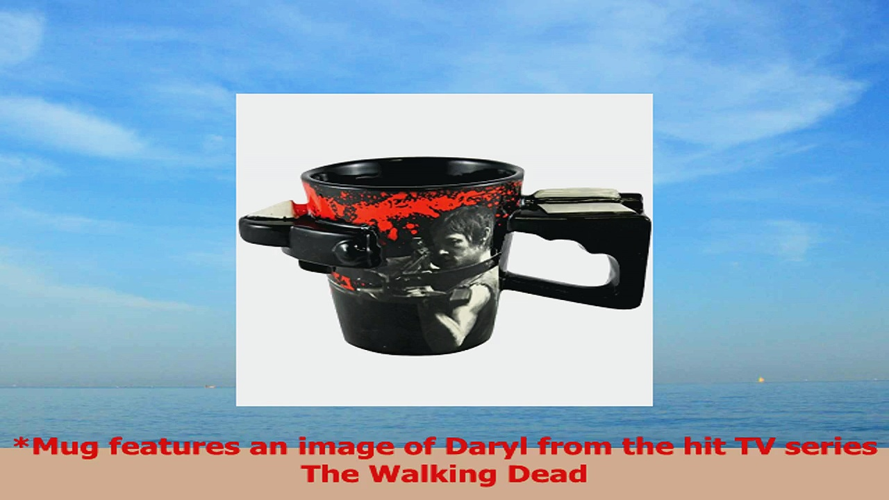 The Walking Dead Daryl Crossbow Coffee Mug 89cbd640