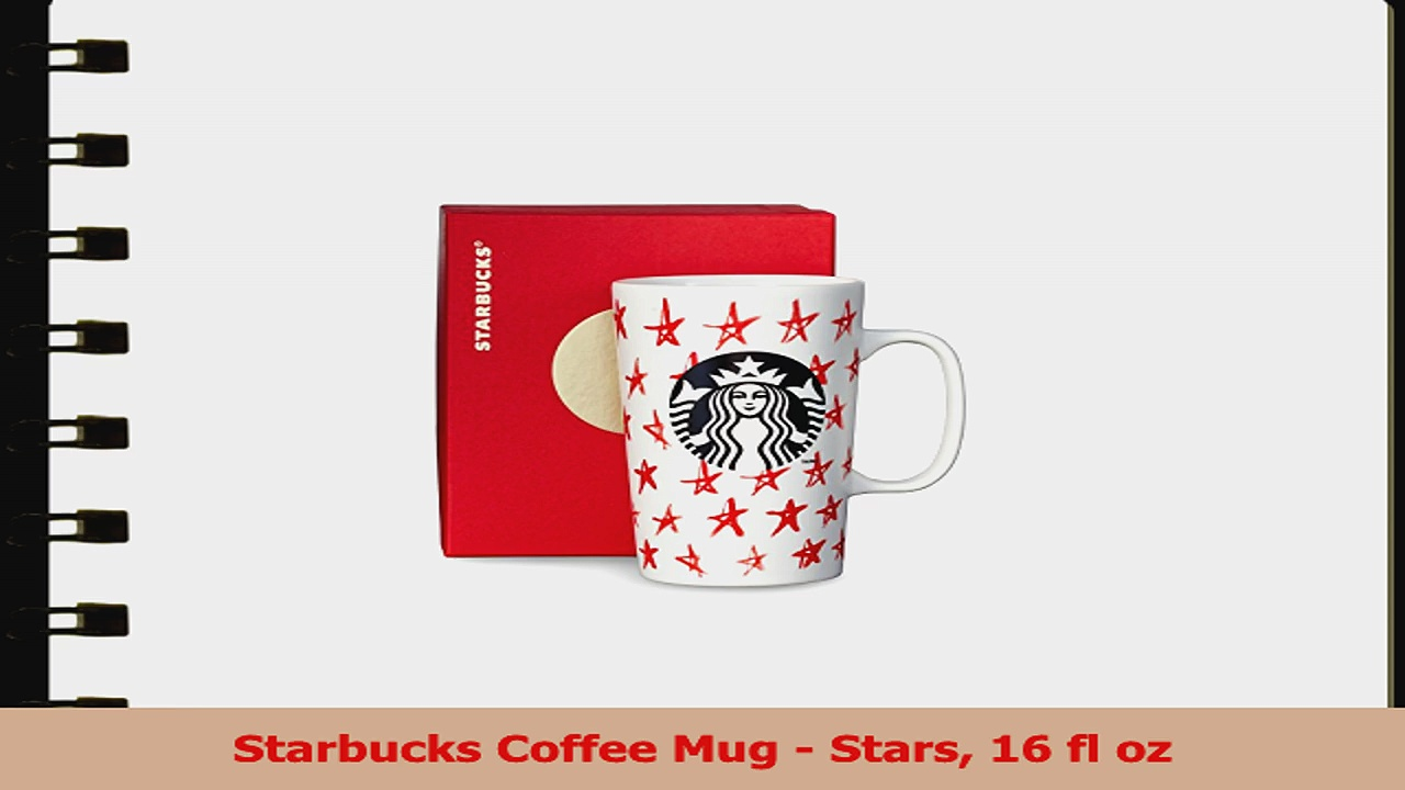 Starbucks Coffee Mug  Stars 16 fl oz 3522d7c2