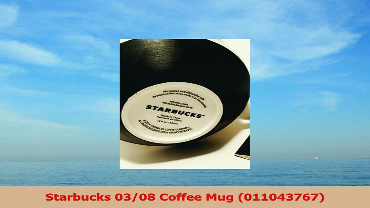 Starbucks 0308 Coffee Mug 011043767 4e5d6e20