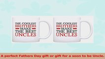 Uncle To Be Gifts Coolest Brothers Make the Best Uncles 2 Pack Gift Coffee Mugs Tea Cups fd9d5d83