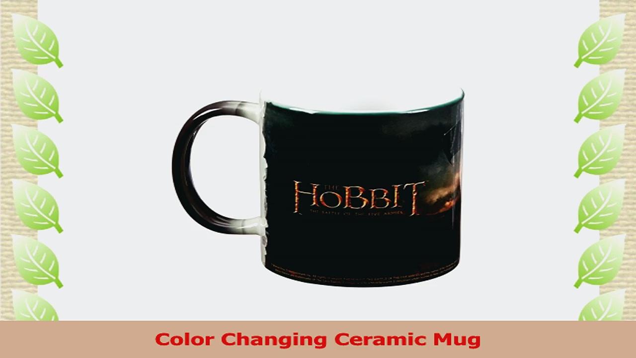 Morphing Mugs Hobbit The Battle of the Five Armies Journeys End Ceramic Mug Black 82aedb1f