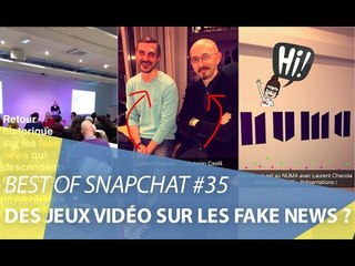 Best of Snapchat #35 : Fake news et gamification