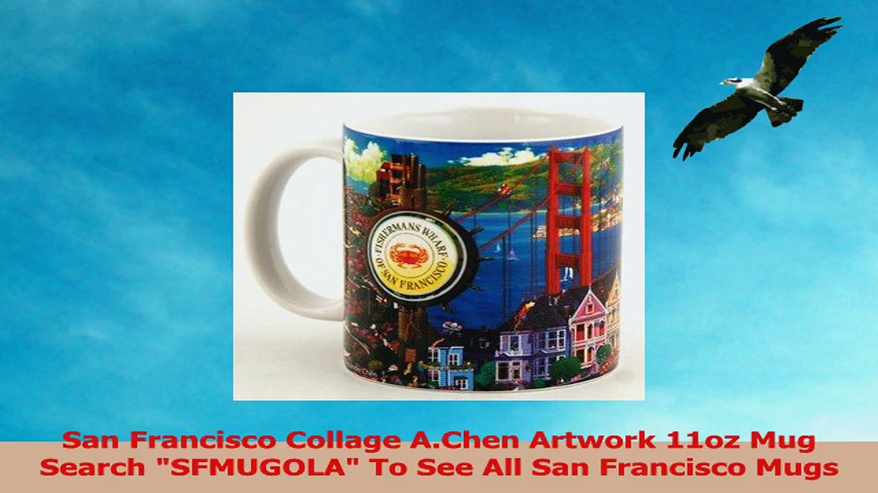 San Francisco Coffee Mug AChen Artwork 11oz SFMugola 4d5bef2f