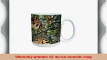 TreeFree Greetings 79617 Obsession by Mossy Oak Camo 15Ounce Ceramic Mug with FullSized 5416024d