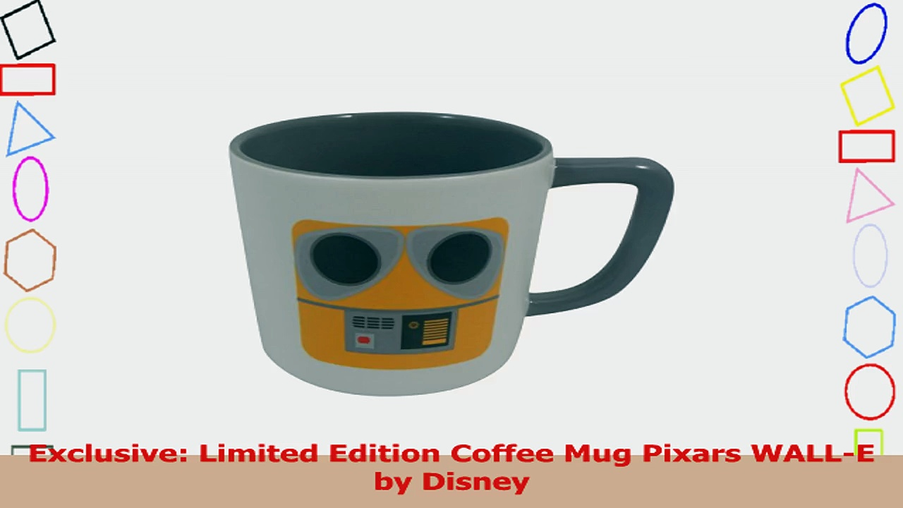 Exclusive Limited Edition Coffee Mug Pixars WALLE by Disney 6c8ed879