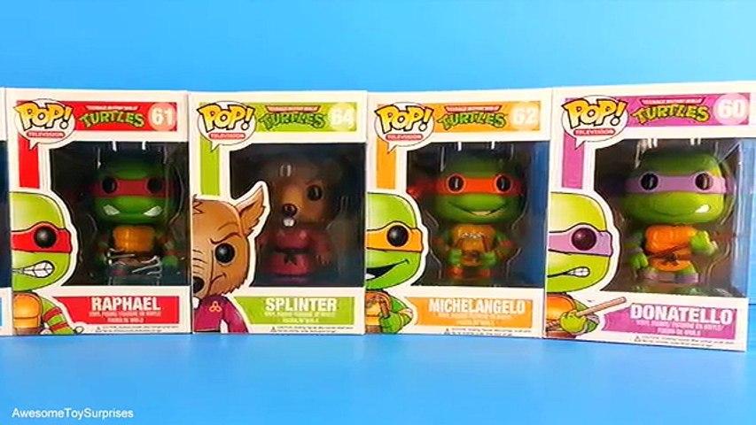 Teenage Mutant Ninja Turtles Toys Ninja Turtles Funko Pop Toys TMNT new Leonardo Raphael Donatello | Godialy.com