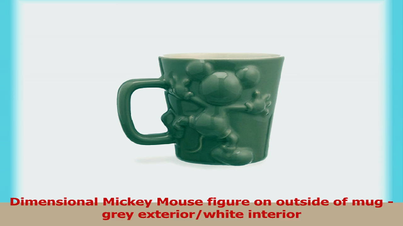 RETIRED Disney Store Mickey Mouse Figural Coffee Mug Cup 944fb3f3