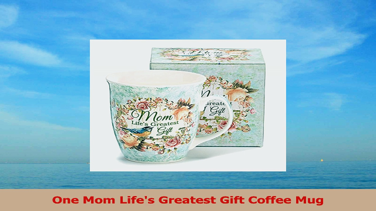 Mom Lifes Greatest Gift Porcelain Coffee Mug ad958ad0