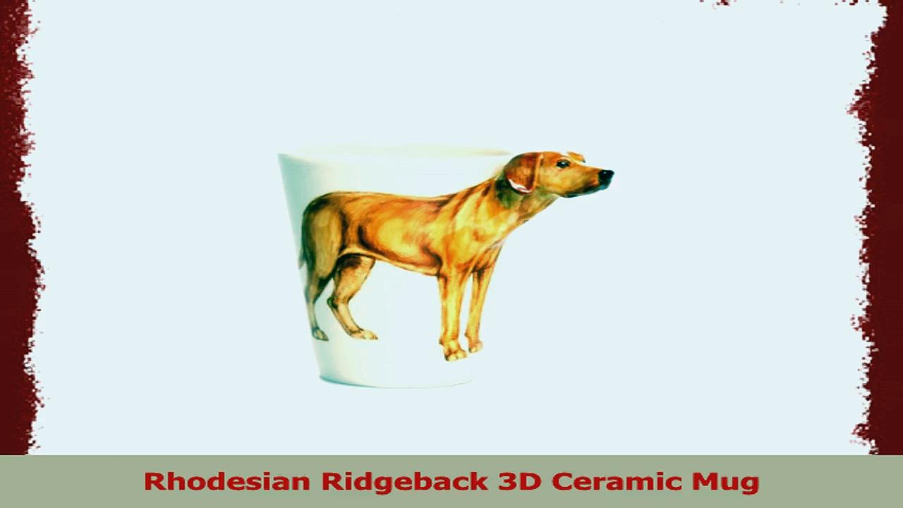 Rhodesian Ridgeback 3D Ceramic Mug d461b64f