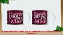 Office Humor Gifts Decent Chance this is Wine 2 Pack Gift Coffee Mugs Tea Cups Maroon bf20efe4