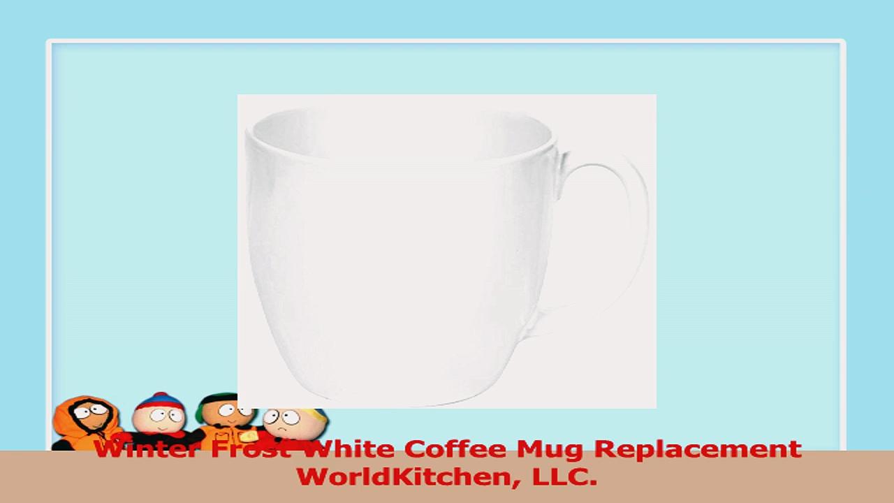 Winter Frost White Coffee Mug Replacement WorldKitchen LLC 33c8941e